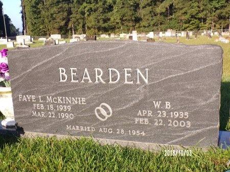 "BEARDEN, W B ""DUB"" - Union County, Louisiana | W B ""DUB"" BEARDEN - Louisiana Gravestone Photos"