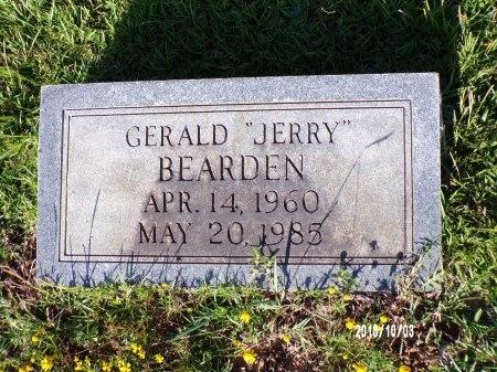 "BEARDEN, GERALD ""JERRY"" - Union County, Louisiana | GERALD ""JERRY"" BEARDEN - Louisiana Gravestone Photos"