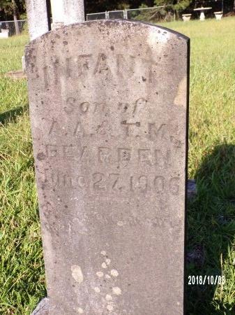 BEARDEN, INFANT SON - Union County, Louisiana | INFANT SON BEARDEN - Louisiana Gravestone Photos