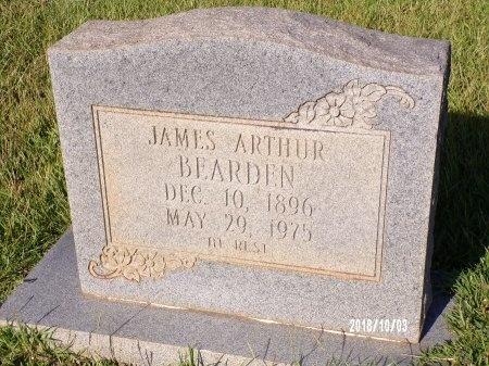 BEARDEN, JAMES ARTHUR - Union County, Louisiana   JAMES ARTHUR BEARDEN - Louisiana Gravestone Photos
