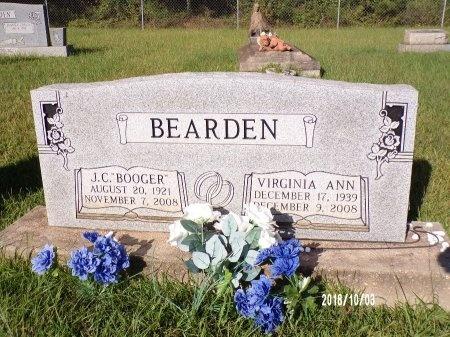 "BEARDEN, J C ""BOOGER"" - Union County, Louisiana | J C ""BOOGER"" BEARDEN - Louisiana Gravestone Photos"