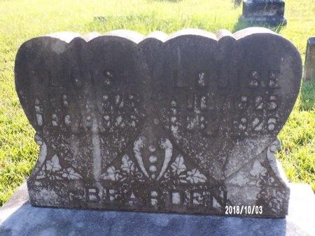 BEARDEN, LOUISE - Union County, Louisiana | LOUISE BEARDEN - Louisiana Gravestone Photos