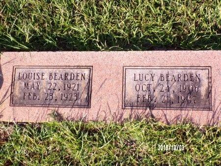 BEARDEN, LUCY - Union County, Louisiana | LUCY BEARDEN - Louisiana Gravestone Photos