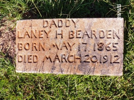BEARDEN, LANEY H - Union County, Louisiana | LANEY H BEARDEN - Louisiana Gravestone Photos
