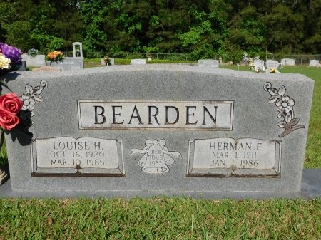 BEARDEN, HERMAN F - Union County, Louisiana | HERMAN F BEARDEN - Louisiana Gravestone Photos