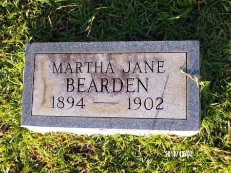 BEARDEN, MARTHA JANE - Union County, Louisiana   MARTHA JANE BEARDEN - Louisiana Gravestone Photos
