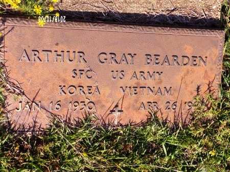 BEARDEN  , ARTHUR GRAY (VETERAN 2 WARS) - Union County, Louisiana   ARTHUR GRAY (VETERAN 2 WARS) BEARDEN   - Louisiana Gravestone Photos