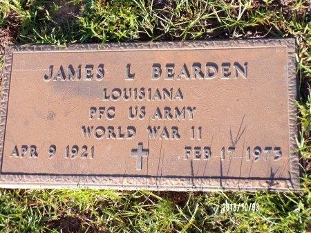 BEARDEN  , JAMES LOUIS (VETERAN WWII) - Union County, Louisiana | JAMES LOUIS (VETERAN WWII) BEARDEN   - Louisiana Gravestone Photos