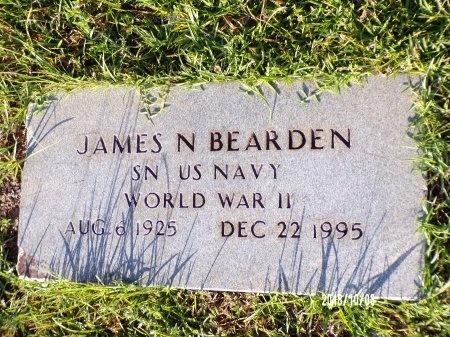 BEARDEN  , JAMES N (VETERAN WWII) - Union County, Louisiana | JAMES N (VETERAN WWII) BEARDEN   - Louisiana Gravestone Photos