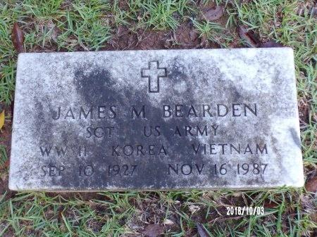 BEARDEN , JAMES M (VETERAN 3 WARS) - Union County, Louisiana | JAMES M (VETERAN 3 WARS) BEARDEN  - Louisiana Gravestone Photos