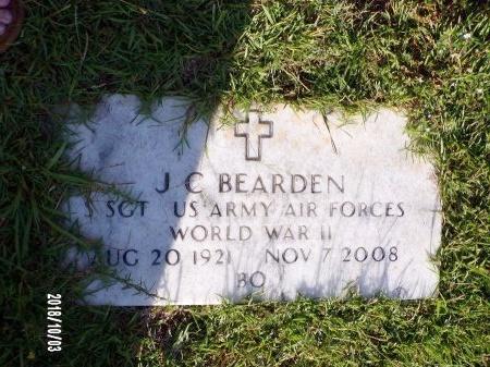 BEARDEN , J C (VETERAN WWII) - Union County, Louisiana   J C (VETERAN WWII) BEARDEN  - Louisiana Gravestone Photos