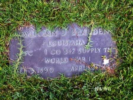 BEARDEN , WILLIAM JEFFERSON  (VETERAN WWI) - Union County, Louisiana   WILLIAM JEFFERSON  (VETERAN WWI) BEARDEN  - Louisiana Gravestone Photos