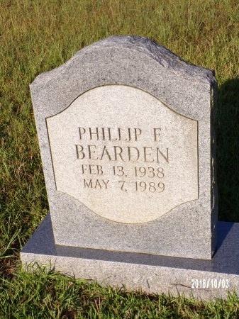 BEARDEN, PHILLIP F - Union County, Louisiana | PHILLIP F BEARDEN - Louisiana Gravestone Photos