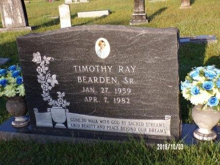 BEARDEN, TIMOTHY RAY, SR - Union County, Louisiana | TIMOTHY RAY, SR BEARDEN - Louisiana Gravestone Photos