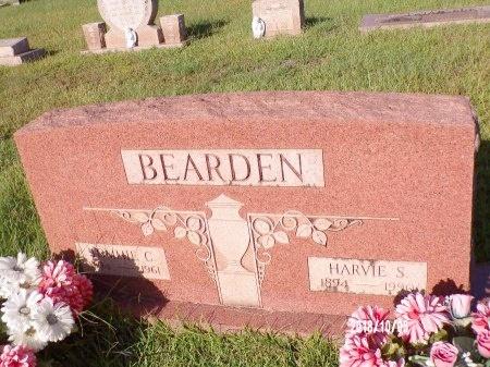 BEARDEN, HARVIE S - Union County, Louisiana   HARVIE S BEARDEN - Louisiana Gravestone Photos