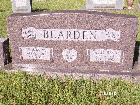 BEARDEN, CALLIE - Union County, Louisiana   CALLIE BEARDEN - Louisiana Gravestone Photos