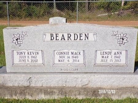 BEARDEN, TONY KEVIN - Union County, Louisiana | TONY KEVIN BEARDEN - Louisiana Gravestone Photos