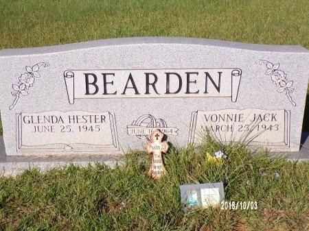 BEARDEN, VONNIE JACK (OBIT) - Union County, Louisiana   VONNIE JACK (OBIT) BEARDEN - Louisiana Gravestone Photos