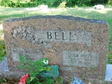 WILLIAMS BELL, MOLLIE - Union County, Louisiana | MOLLIE WILLIAMS BELL - Louisiana Gravestone Photos