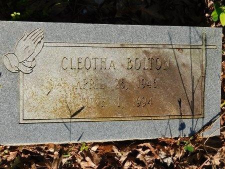 BOLTON, CLEOTHA - Union County, Louisiana   CLEOTHA BOLTON - Louisiana Gravestone Photos