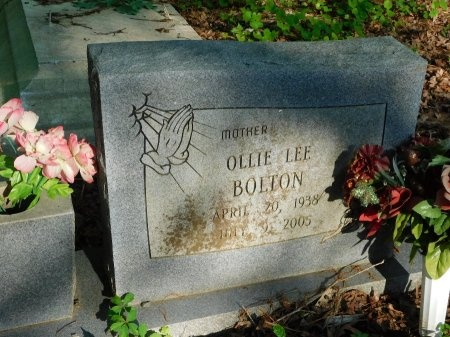 BOLTON, OLLIE LEE - Union County, Louisiana | OLLIE LEE BOLTON - Louisiana Gravestone Photos