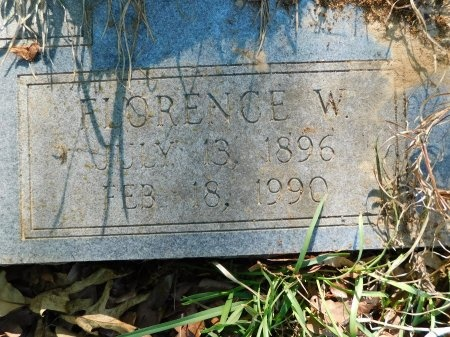 BRAGGS, FLORENCE W (CLOSE UP) - Union County, Louisiana | FLORENCE W (CLOSE UP) BRAGGS - Louisiana Gravestone Photos