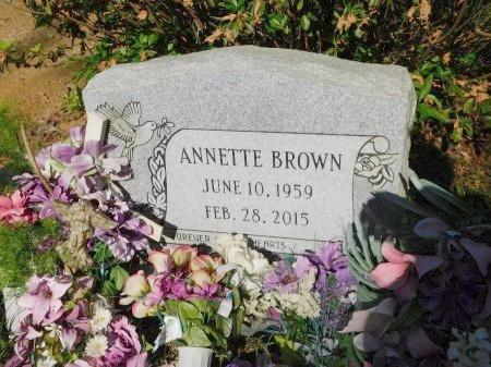 BROWN, ANNETTE - Union County, Louisiana | ANNETTE BROWN - Louisiana Gravestone Photos
