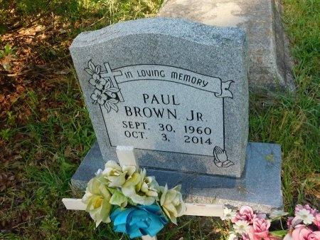 BROWN, PAUL, JR - Union County, Louisiana   PAUL, JR BROWN - Louisiana Gravestone Photos