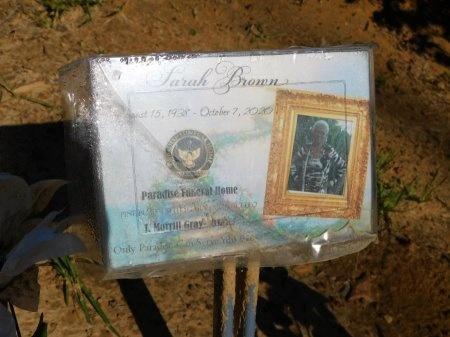 DAVIS BROWN, SARAH ELIZABETH - Union County, Louisiana   SARAH ELIZABETH DAVIS BROWN - Louisiana Gravestone Photos
