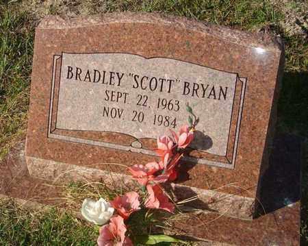 "BRYAN, BRADLEY ""SCOTT"" - Union County, Louisiana | BRADLEY ""SCOTT"" BRYAN - Louisiana Gravestone Photos"