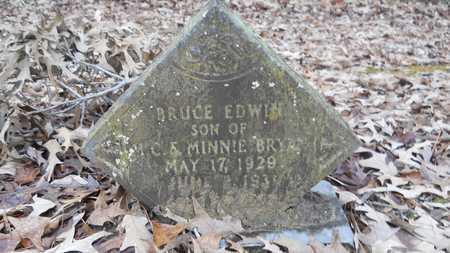 BRYAN, BRUCE EDWIN - Union County, Louisiana   BRUCE EDWIN BRYAN - Louisiana Gravestone Photos