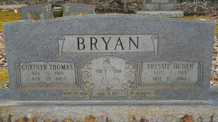 BRYAN, GURTHER THOMAS - Union County, Louisiana   GURTHER THOMAS BRYAN - Louisiana Gravestone Photos
