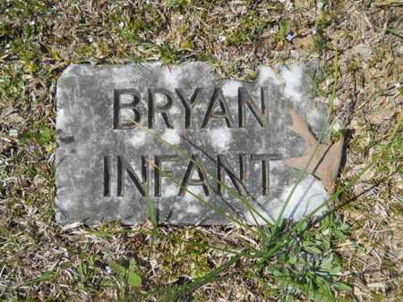 BRYAN, INFANT - Union County, Louisiana | INFANT BRYAN - Louisiana Gravestone Photos
