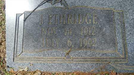 BRYAN, J ETHRIDGE (CLOSE UP) - Union County, Louisiana | J ETHRIDGE (CLOSE UP) BRYAN - Louisiana Gravestone Photos