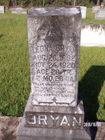 BRYAN, LEONA - Union County, Louisiana | LEONA BRYAN - Louisiana Gravestone Photos