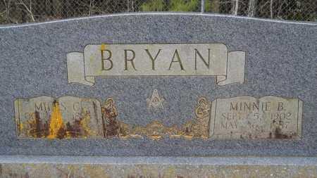BRYAN, MINNIE B - Union County, Louisiana | MINNIE B BRYAN - Louisiana Gravestone Photos