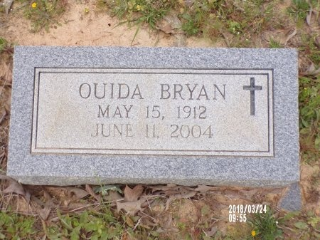 BRYAN, OUIDA - Union County, Louisiana | OUIDA BRYAN - Louisiana Gravestone Photos