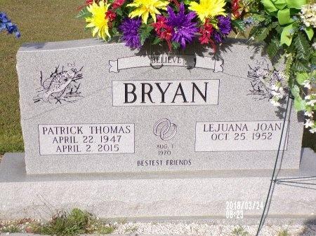 BRYAN, PATRICK THOMAS - Union County, Louisiana | PATRICK THOMAS BRYAN - Louisiana Gravestone Photos
