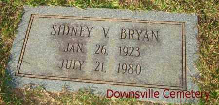 BRYAN, SIDNEY V. - Union County, Louisiana | SIDNEY V. BRYAN - Louisiana Gravestone Photos