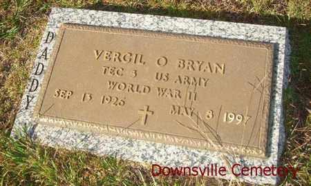 BRYAN, VERGIL O (VETERAN WWII) - Union County, Louisiana | VERGIL O (VETERAN WWII) BRYAN - Louisiana Gravestone Photos
