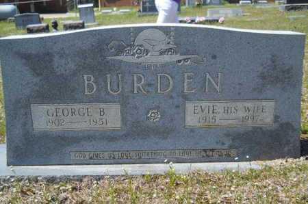 BURDEN, EVIE - Union County, Louisiana | EVIE BURDEN - Louisiana Gravestone Photos