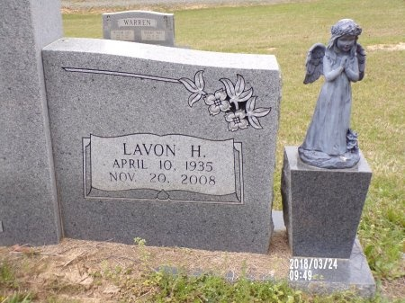 BURFORD, ANNIE LAVON (CLOSE UP) - Union County, Louisiana | ANNIE LAVON (CLOSE UP) BURFORD - Louisiana Gravestone Photos
