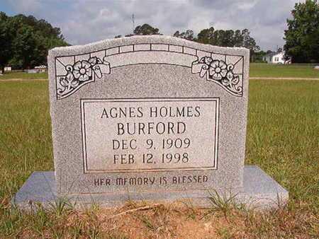 BURFORD, AGNES - Union County, Louisiana | AGNES BURFORD - Louisiana Gravestone Photos