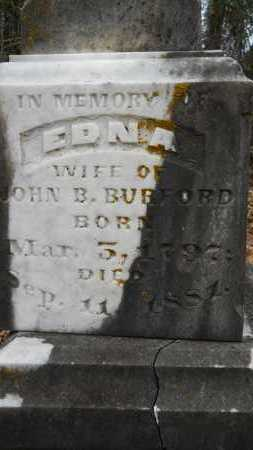 BURFORD, EDNA (CLOSE UP) - Union County, Louisiana   EDNA (CLOSE UP) BURFORD - Louisiana Gravestone Photos