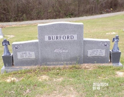 BURFORD, GARY K - Union County, Louisiana | GARY K BURFORD - Louisiana Gravestone Photos