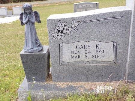 BURFORD, GARY K (CLOSE UP) - Union County, Louisiana | GARY K (CLOSE UP) BURFORD - Louisiana Gravestone Photos