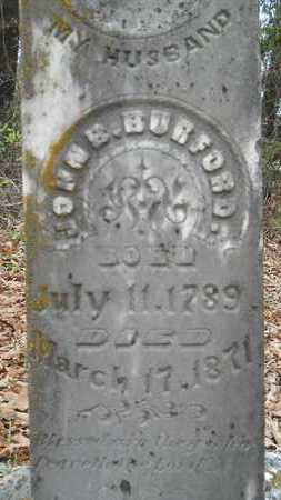 BURFORD, JOHN B (CLOSE UP) - Union County, Louisiana | JOHN B (CLOSE UP) BURFORD - Louisiana Gravestone Photos