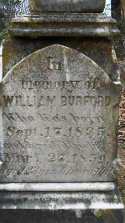 BURFORD, WILLIAM (CLOSE UP) - Union County, Louisiana   WILLIAM (CLOSE UP) BURFORD - Louisiana Gravestone Photos