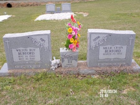 BURFORD, WILTON ROY - Union County, Louisiana   WILTON ROY BURFORD - Louisiana Gravestone Photos