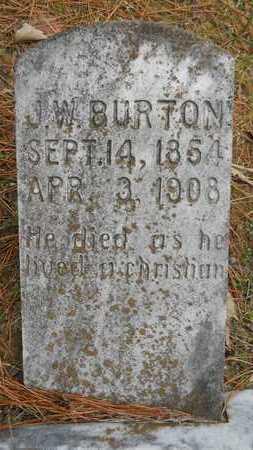 BURTON, J W - Union County, Louisiana | J W BURTON - Louisiana Gravestone Photos